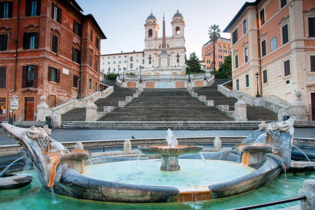 Spanische Treppe Rom – Geschichte Von Zu Hause Aus von Spanische Treppe Rom Gesperrt Photo