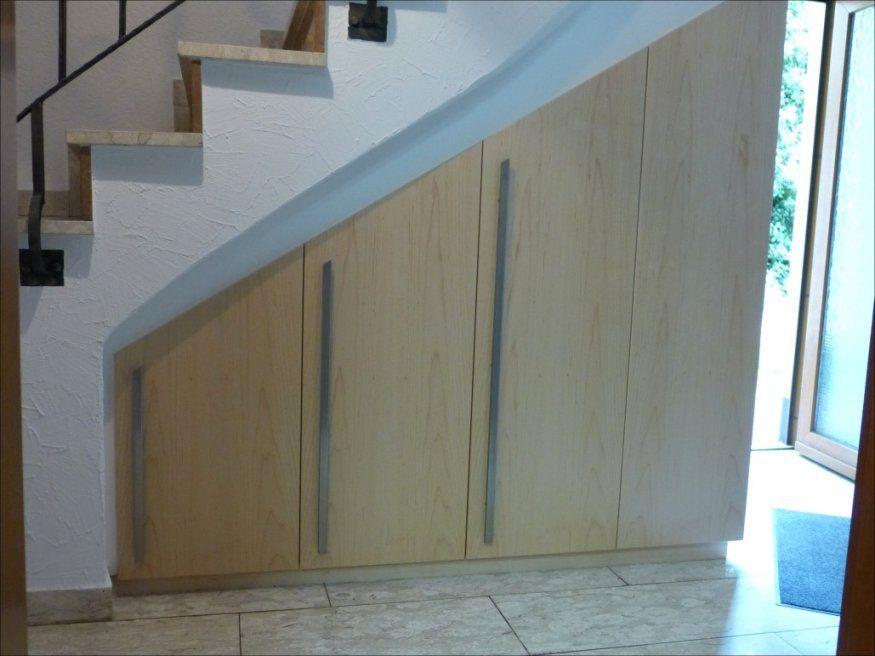 Spannende Regal Unter Treppe Schrank Unter Treppe Ehrfrchtig Avec von Schrank Unter Treppe Selber Bauen Bild