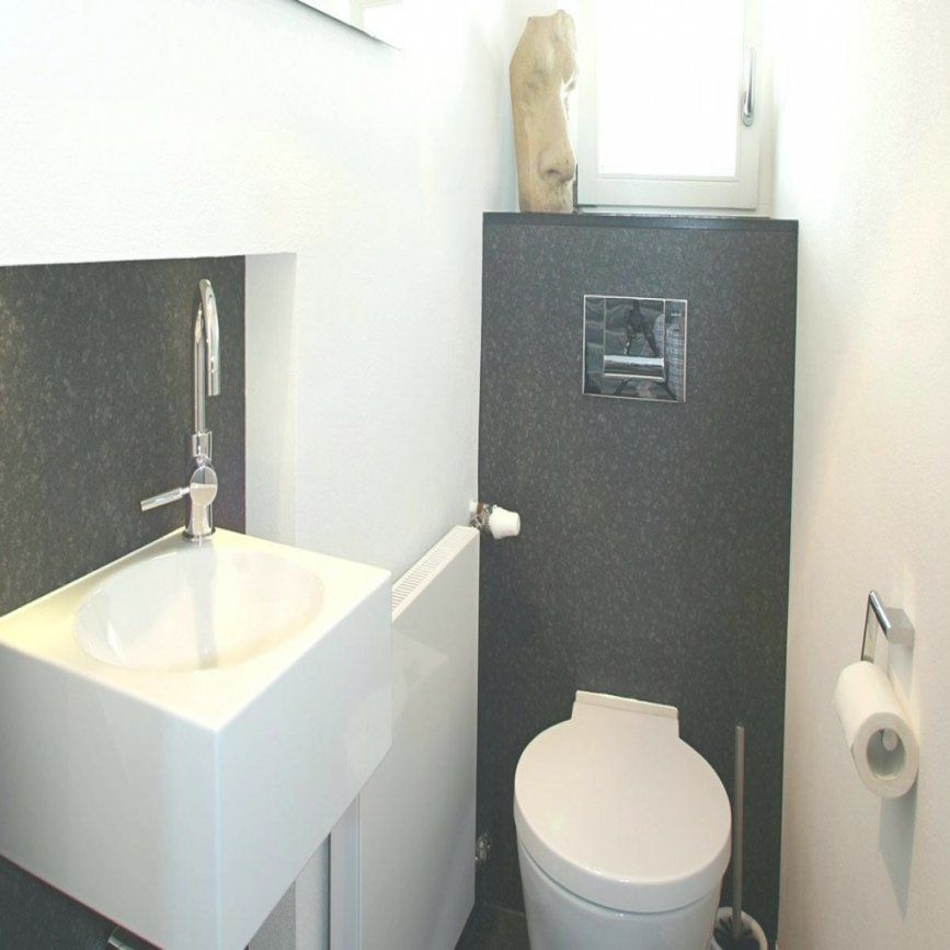 Spiegel Gaste Wc Mit Beleuchtung Bad Auf Kleinem Raum Einnehmend von Badezimmer Auf Kleinem Raum Photo