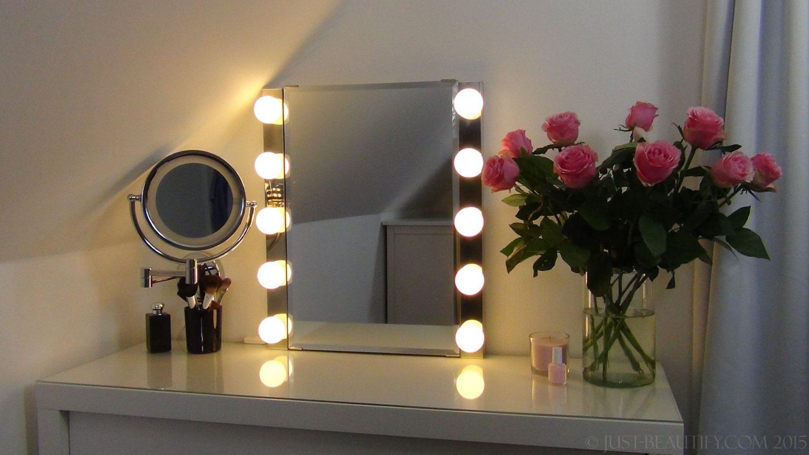 Spiegel Mit Beleuchtung Für Schminktisch Iranbuilders von Spiegel Mit Beleuchtung Fuer Schminktisch Bild