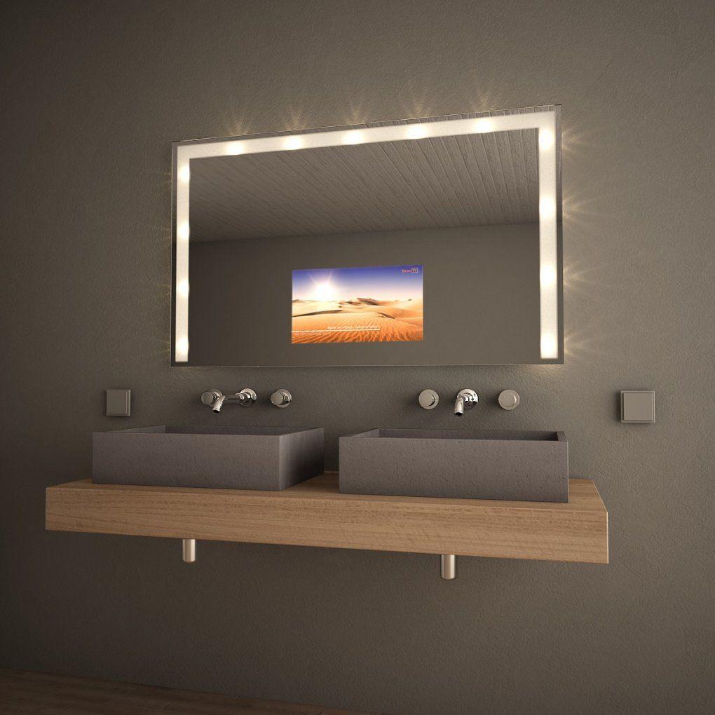 Spiegel Mit Fernseher Lilamoon 300871031 Von Wand Hinter Gestalten Photo