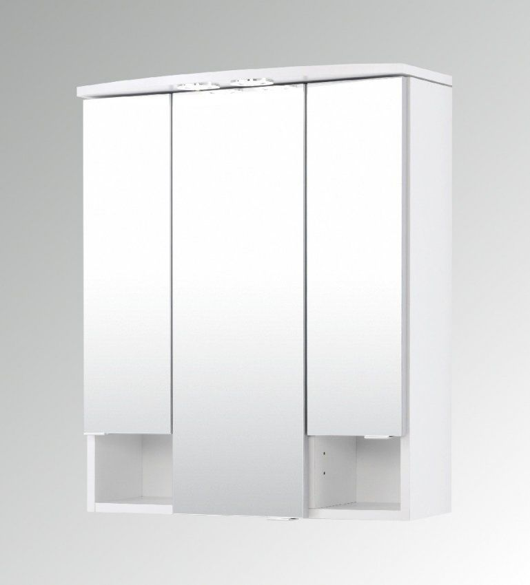 Spiegelschrank Bad 160 Cm Breit Bad Spiegelschrank Neapel 3 Turig 60
