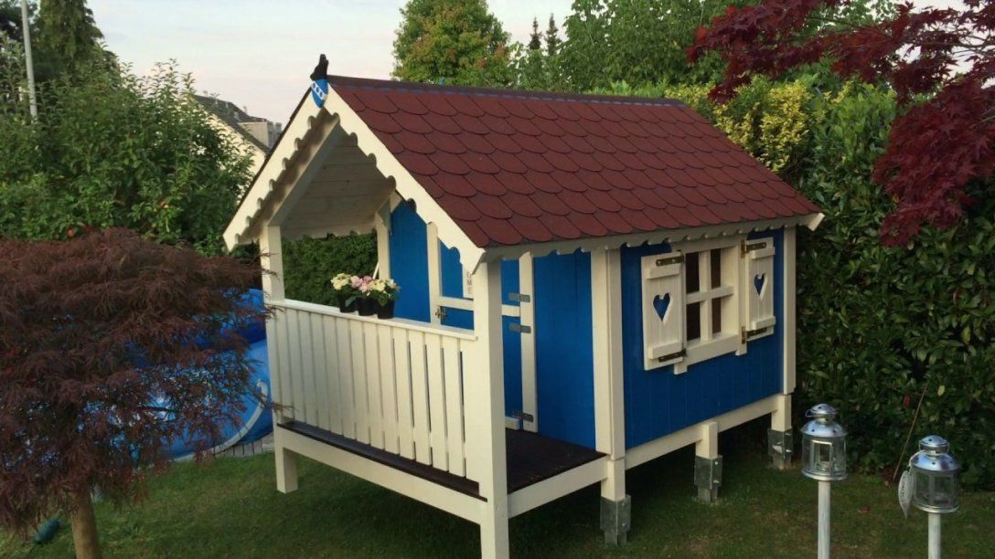 Spielhaus Bauanleitung  Spielhaus Selber Bauen  Stelzenhaus Selber von Holz Spielhaus Selber Bauen Bild