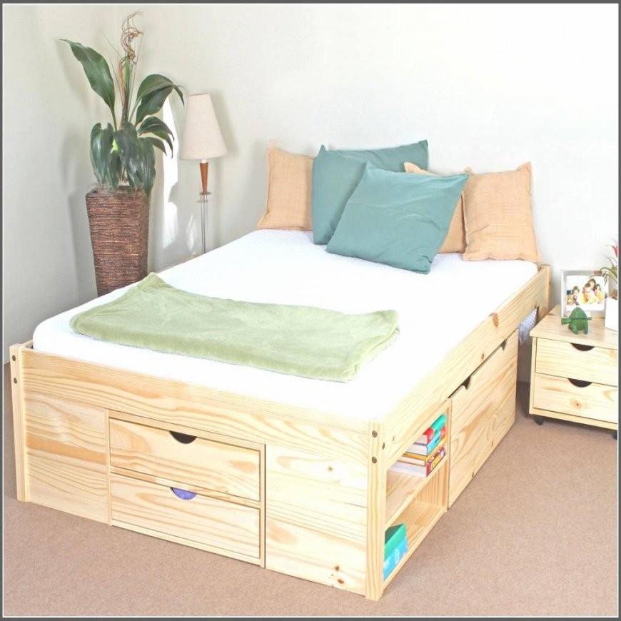 bett bauen mit stauraum haus design ideen. Black Bedroom Furniture Sets. Home Design Ideas
