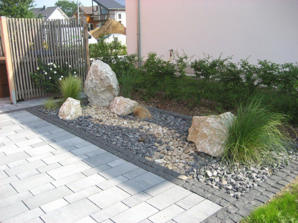 steinbeet vorgarten anlegen steingarten steingarten. Black Bedroom Furniture Sets. Home Design Ideas