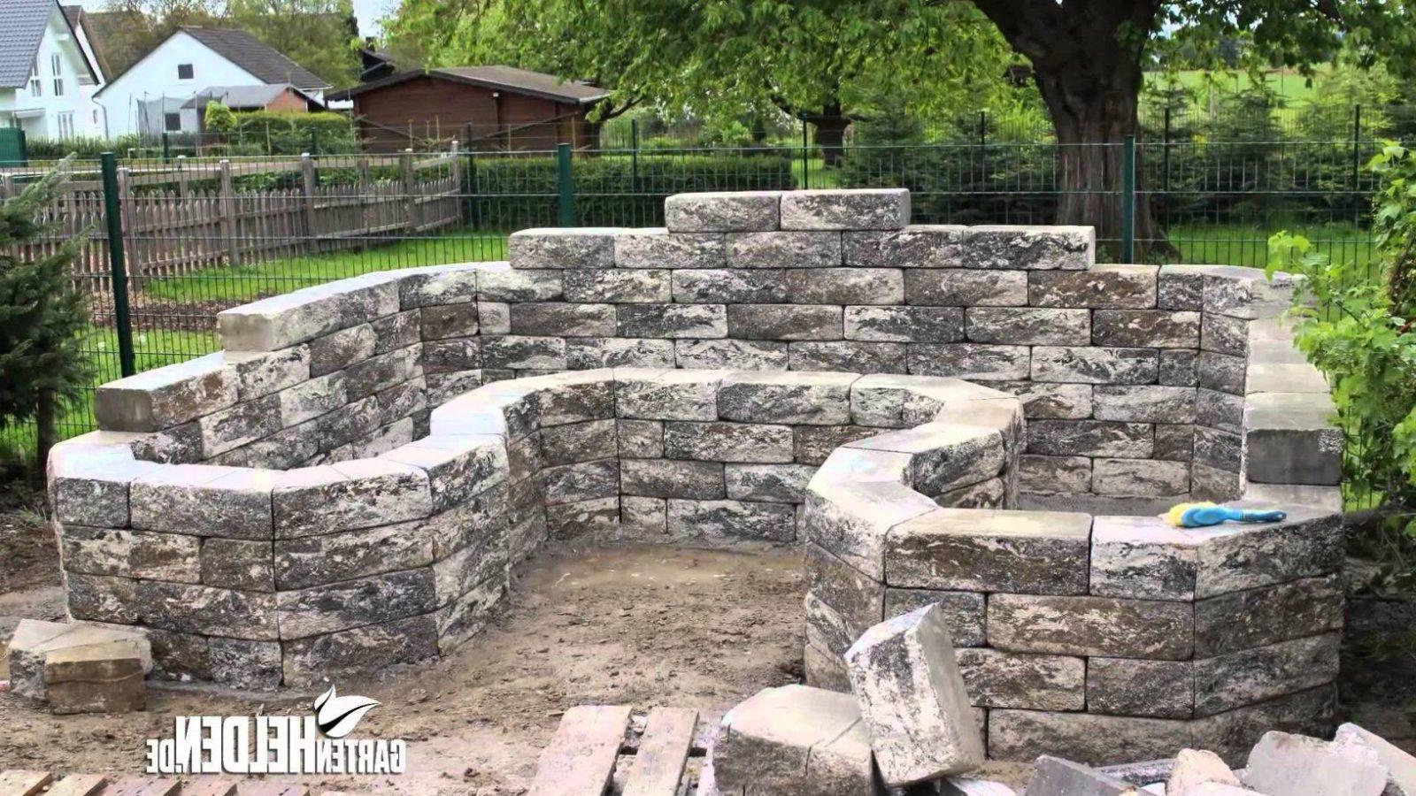 Steinmauer Selber Bauen Steinmauer Garten Selber Bauen Garten von ...