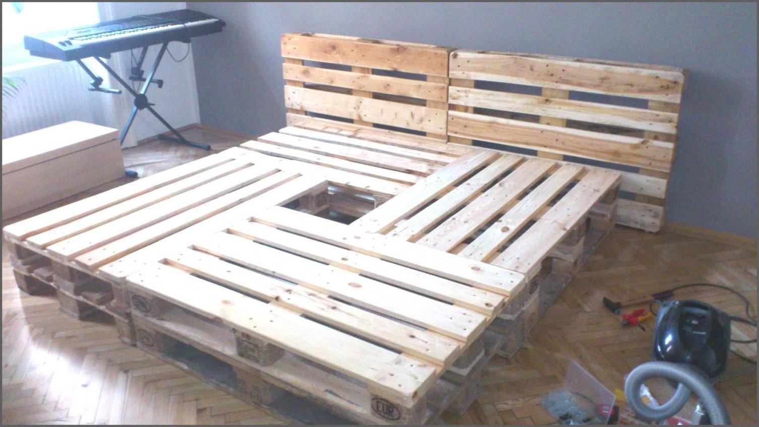 Sthetische Ideen Bett Aus Europaletten Bauen Und Tolle Selber 140 von Bett Mit Europaletten Bauen Bild