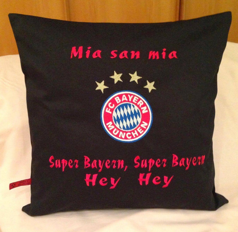 Stickbilder Fc Bayern Dirndl Kissen Tasche von Fc Bayern Stoff Zum Nähen Photo