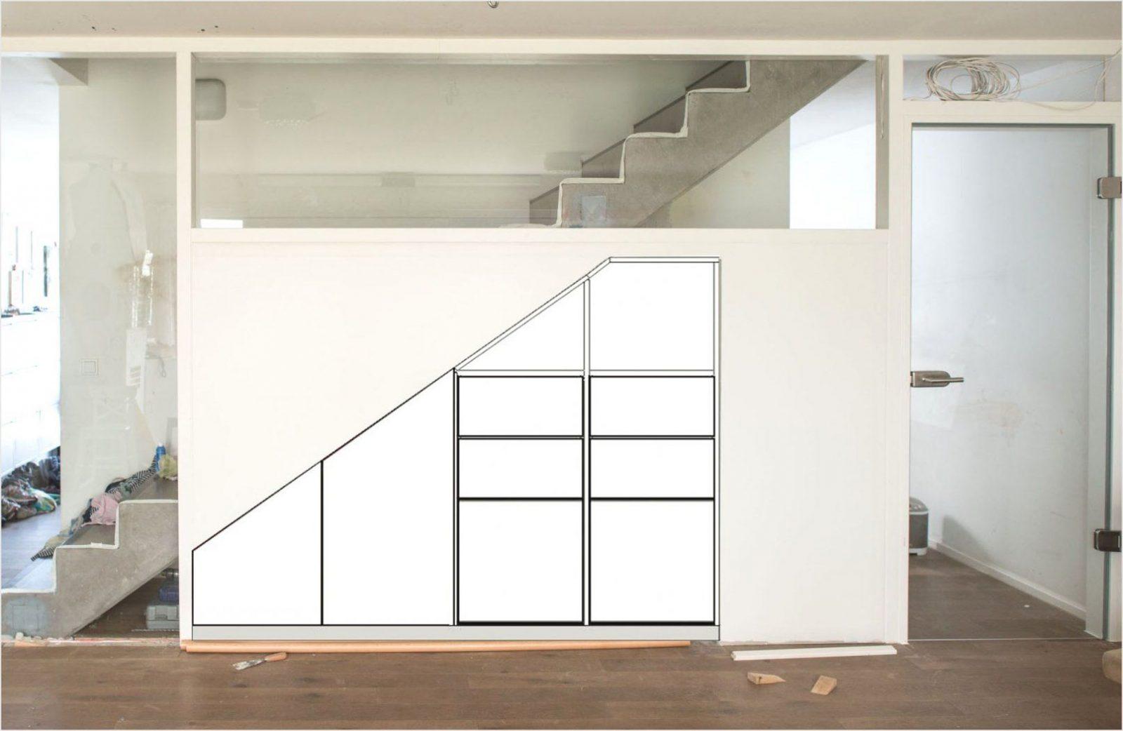 Schrank Unter Treppe Selber Bauen Haus Design Ideen