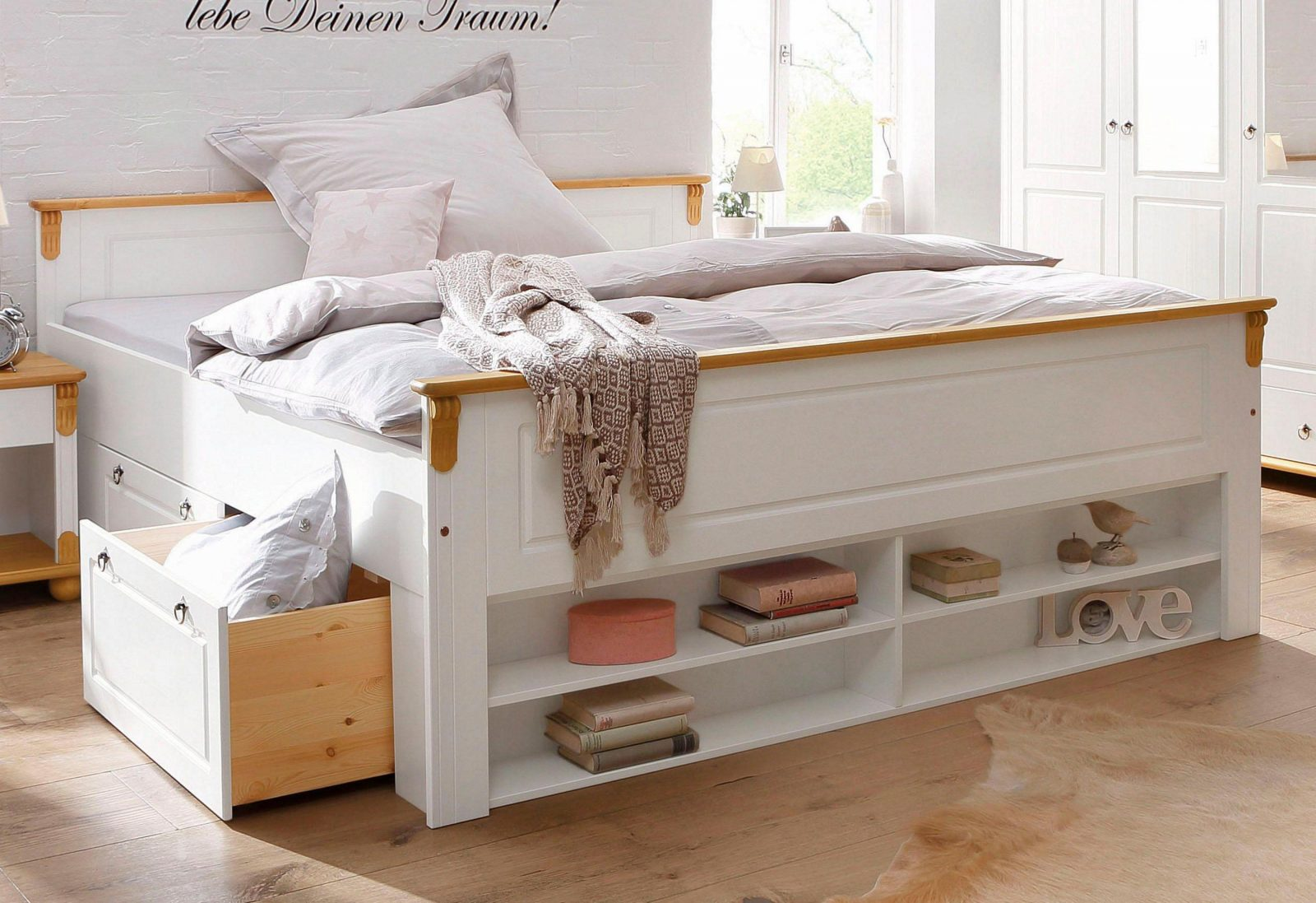Stilvolle Stauraum Bett Selber Bauen – Cblonline von Bett Bauen Mit Stauraum Bild