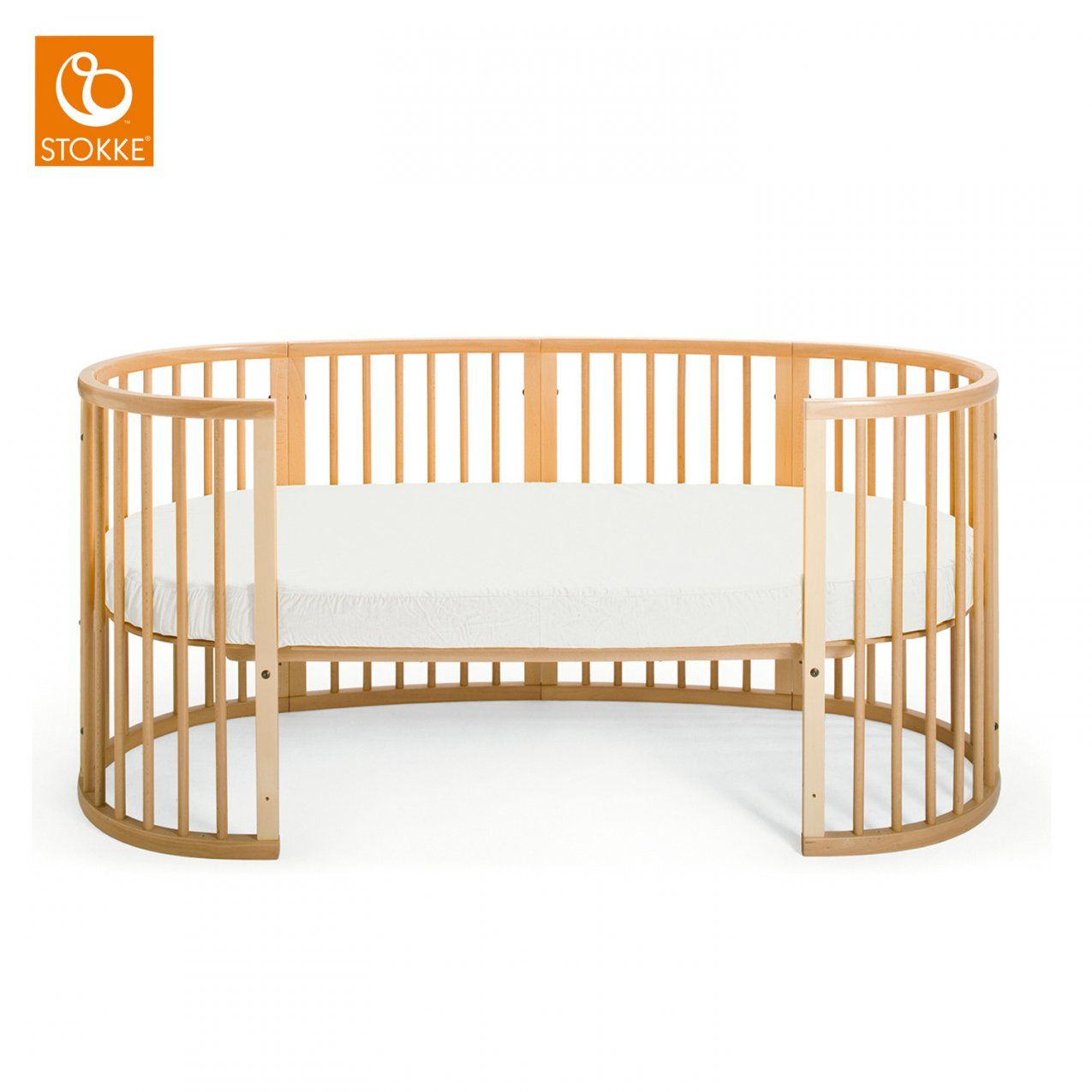 Stokke Jugendbett Sleepi Junior Natural von Stokke Sleepi Junior Matratze Bild
