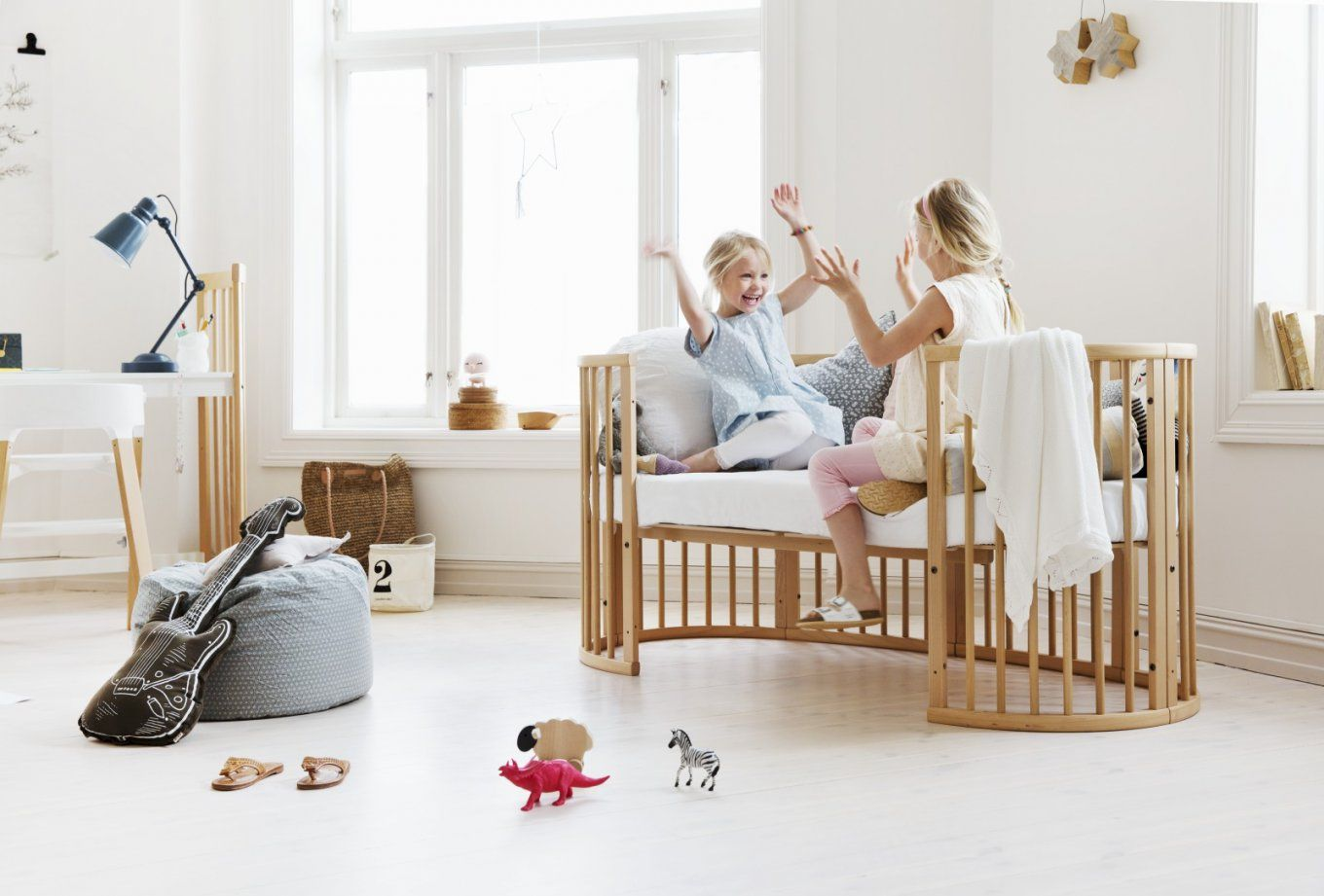 Stokke® Sleepi™ Bett White von Stokke Sleepi Junior Matratze Bild
