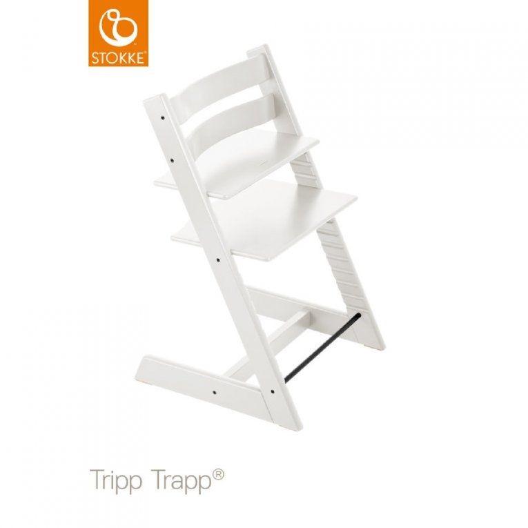 Stokke® Tripp Trapp® Hochstuhl Buche Weiß  Babymarkt von Stokke Tripp Trapp Buche Photo
