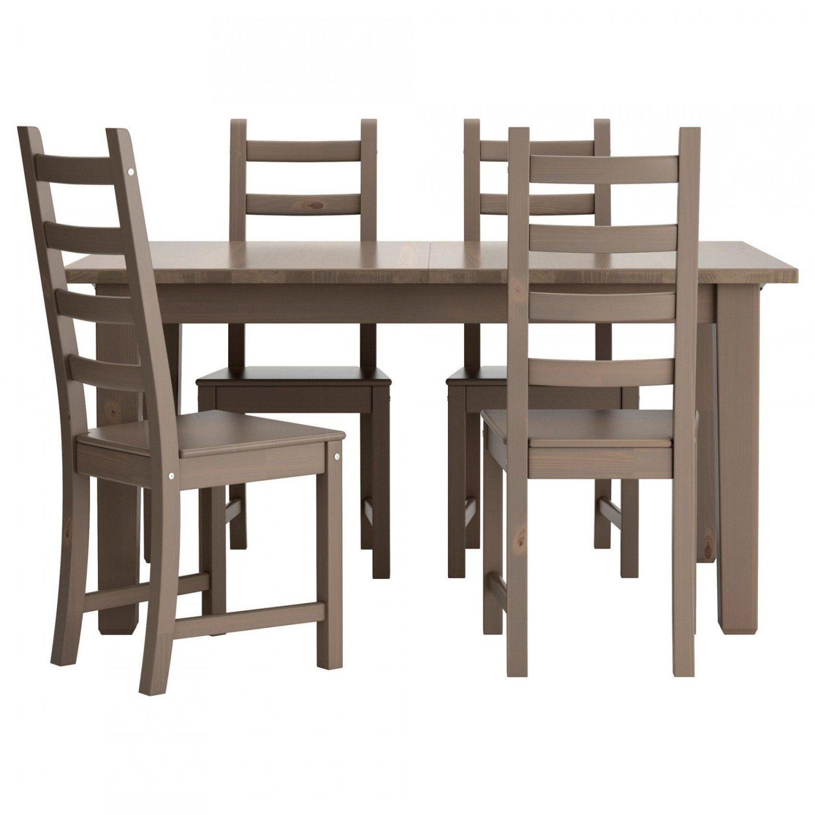 Stornäs  Kaustby Tisch Und 4 Stühle Braunschwarz  Ikea Stuhl Und von Tisch Und Stühle Für Küche Bild