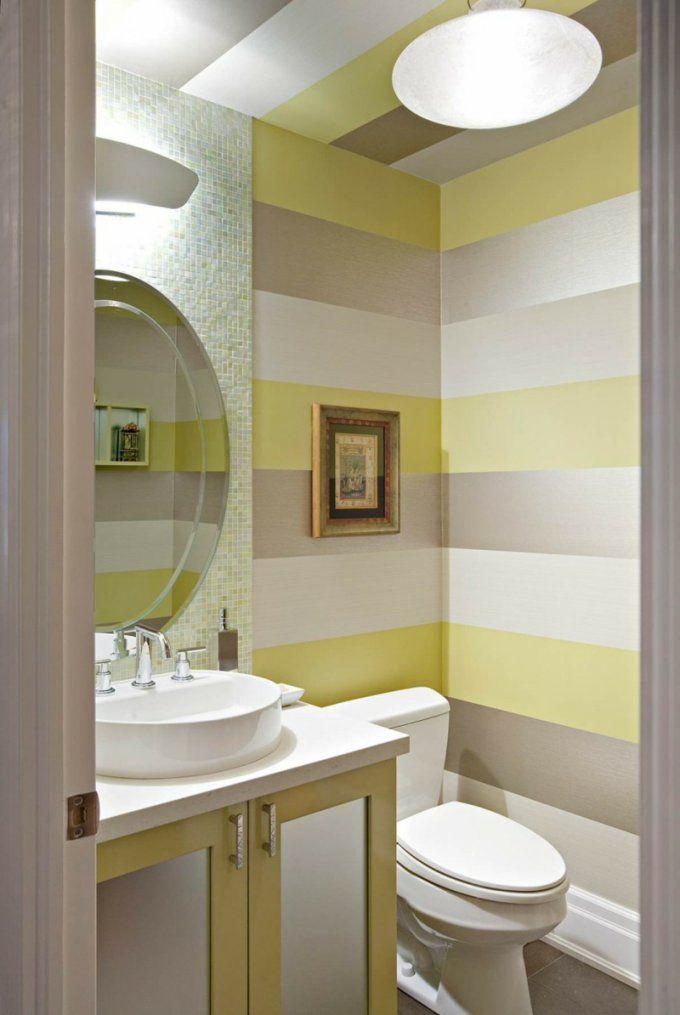 Streifen An Der Wand Streichen  Tipps Und Ideen von Wand Streichen Streifen Ideen Bild