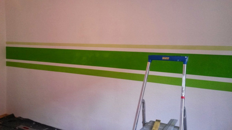Streifen An Die Wand Malen Mit Streifen An Der Wand Braun Creadev Co von Streifen An Der Wand Bild