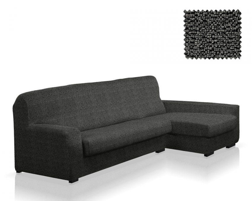 Stretchhusse Für Sofa Mit Ottomane Duplex Terrateig  Sofabezug von Stretchhusse Für Ecksofa Mit Ottomane Rechts Bild