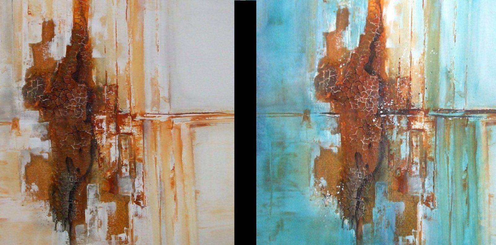 Strukturpastemarmormehl Fertigstellung3 Part Structure Paste von Acrylbilder Mit Strukturpaste Anleitung Bild