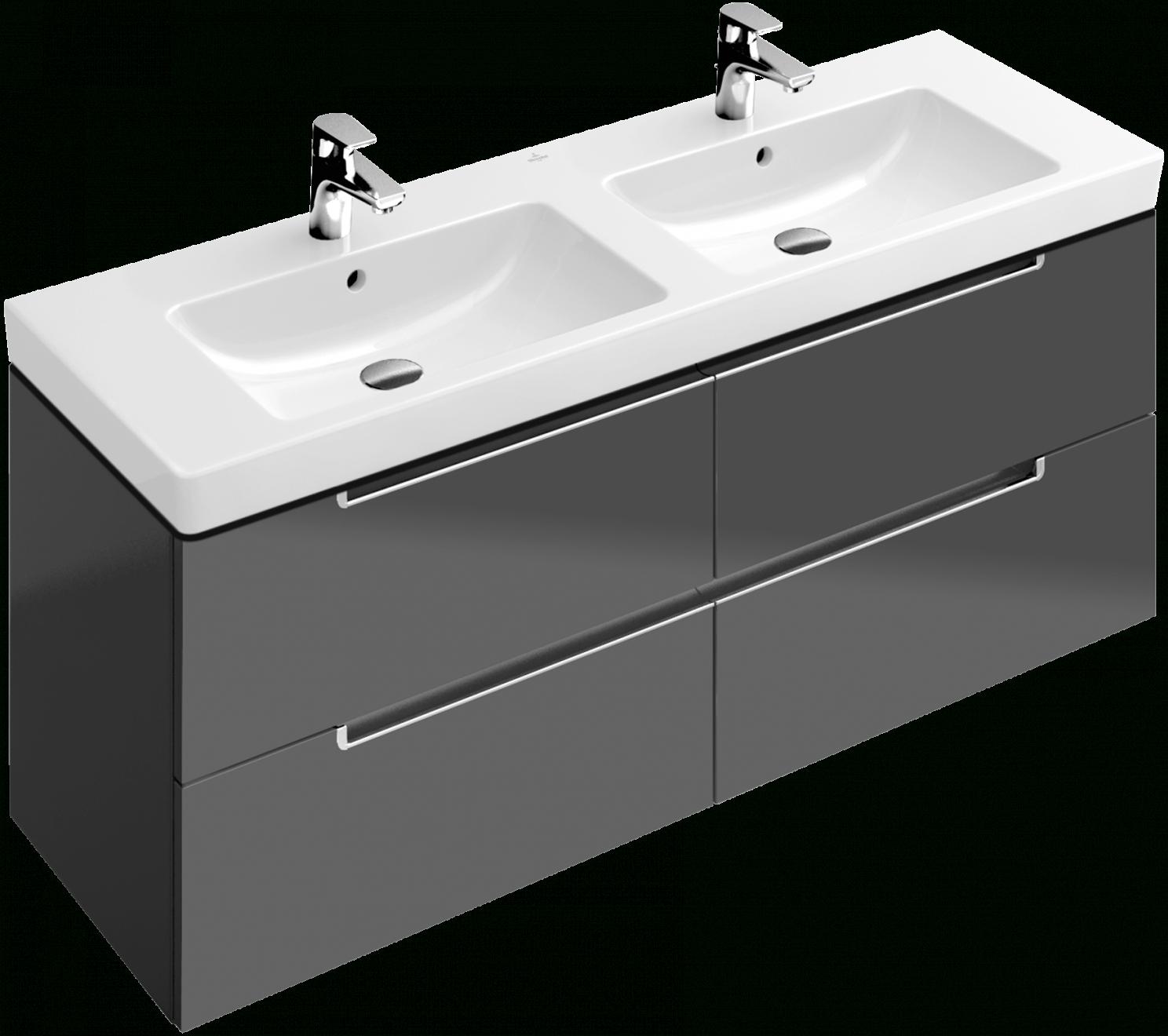 unterschrank und spiegelschrank waschtisch villeroy boch von villeroy und boch. Black Bedroom Furniture Sets. Home Design Ideas
