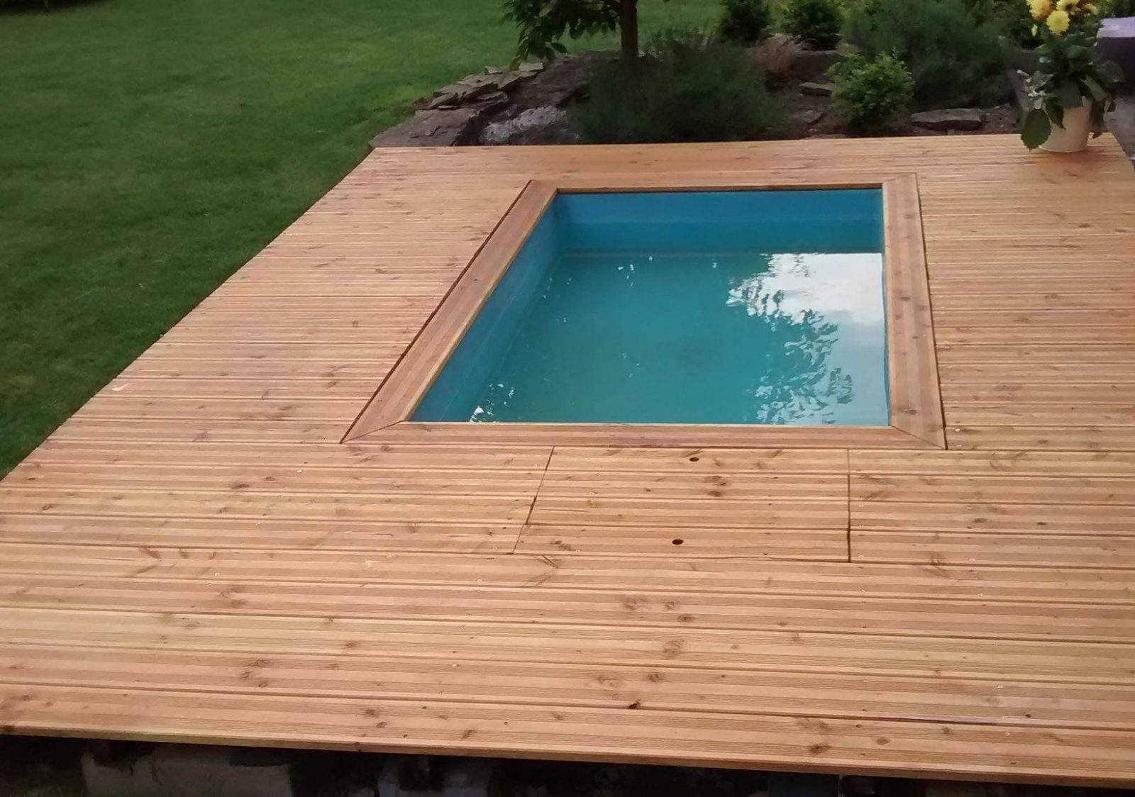 Surprising Mini Pool Garten Selber Bauen Kleiner Im Kosten Kaufen von Tauchbecken Im Garten Selber Bauen Photo