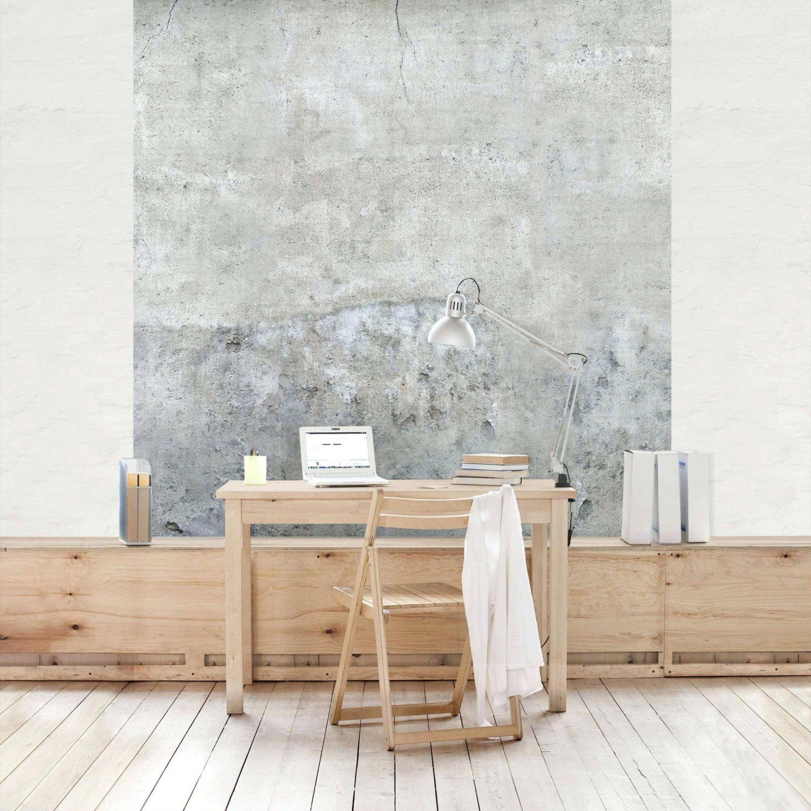 Tapete Gestalten Wande Ohne Einzigartig Beton Vliestapete Shabby von Wände Gestalten Ohne Tapete Bild