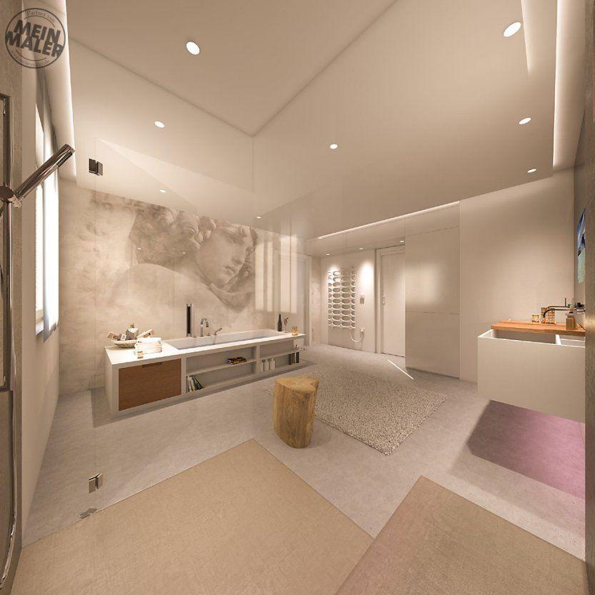 Tapete Im Badezimmer – Wandtapeten Als Kreative Alternative Zu von Wasserfeste Tapete Fürs Bad Bild