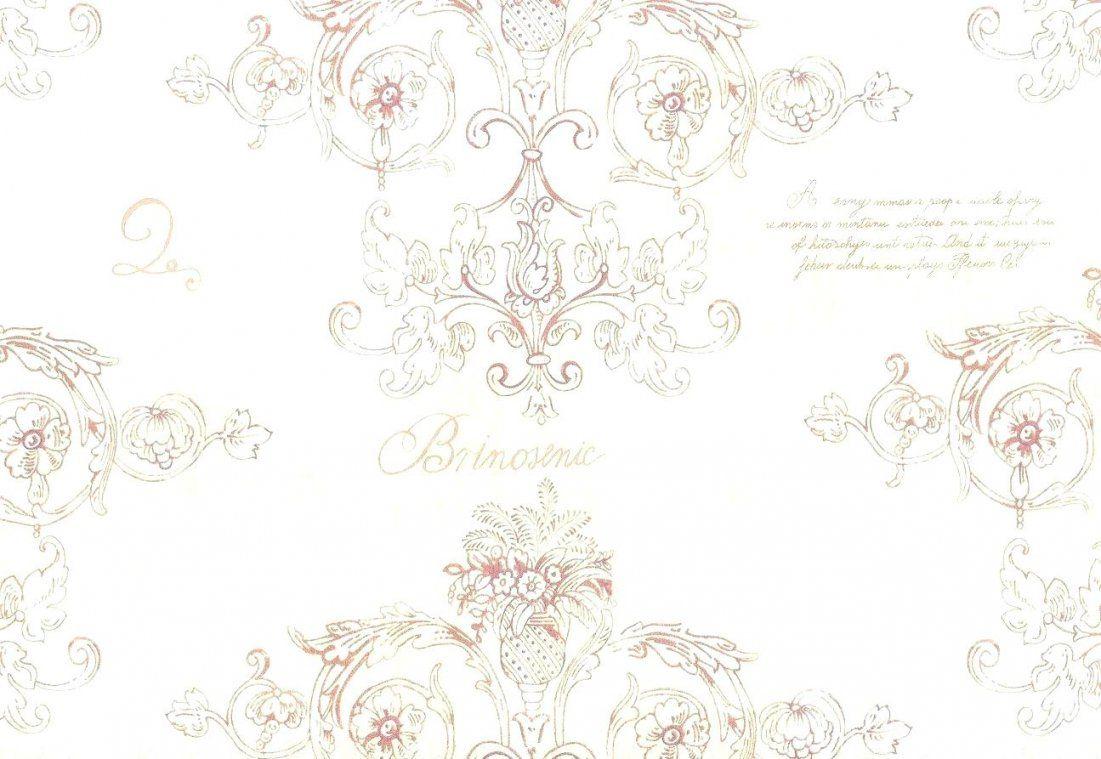 Tapete Landhaus Vintage Decowunder Tapeten Rose 68316 Ga 1 4 Nstig von Tapete Landhaus Floral Blümchen Bild