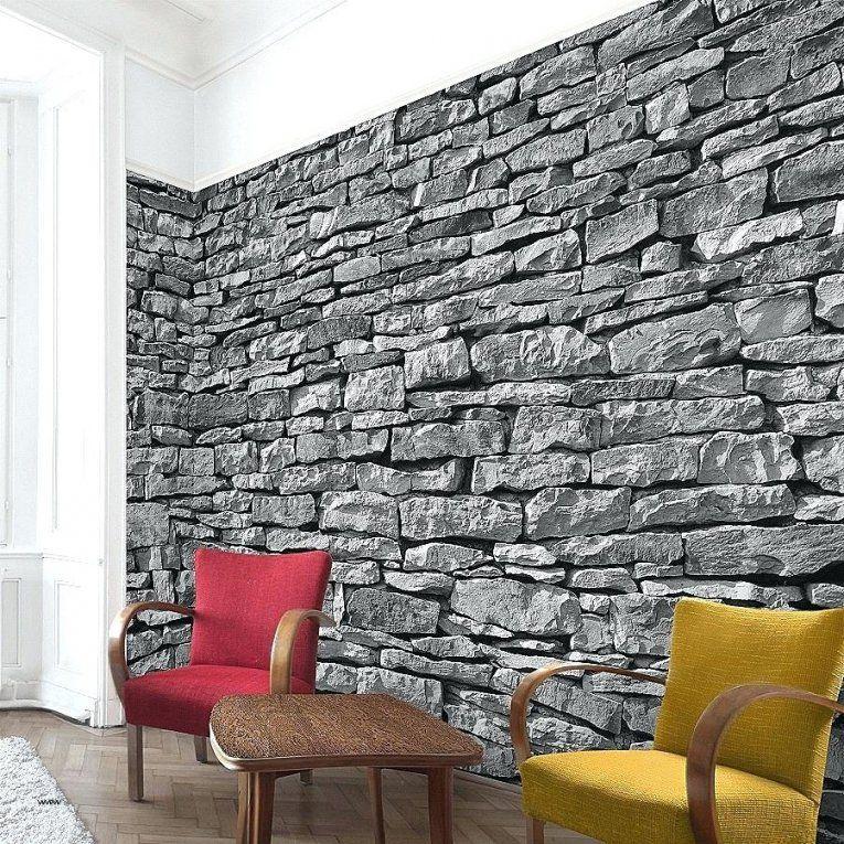 Tapete Steinoptik Wohnzimmer Ideen Elegant Atemberaubende Stein Und von Tapete Steinoptik 3D Wohnzimmer Bild