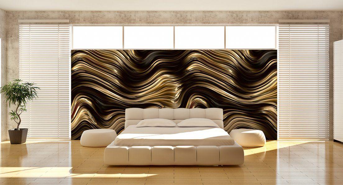 Tapeten Wohnzimmer Braun Gestreift Wandgestaltung von Wandgestaltung Mit Tapeten Wohnzimmer Photo