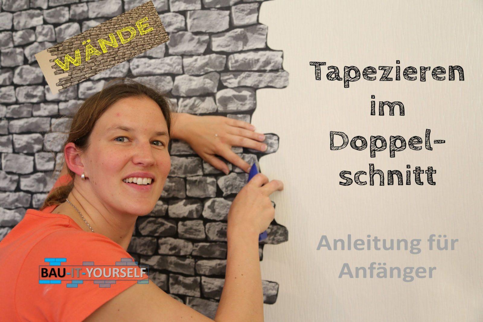 Tapezieren Doppelschnitt Wandgestaltung Wand Wände Doppelnahtschnitt von Wandgestaltung Mit Tapeten Wohnzimmer Photo