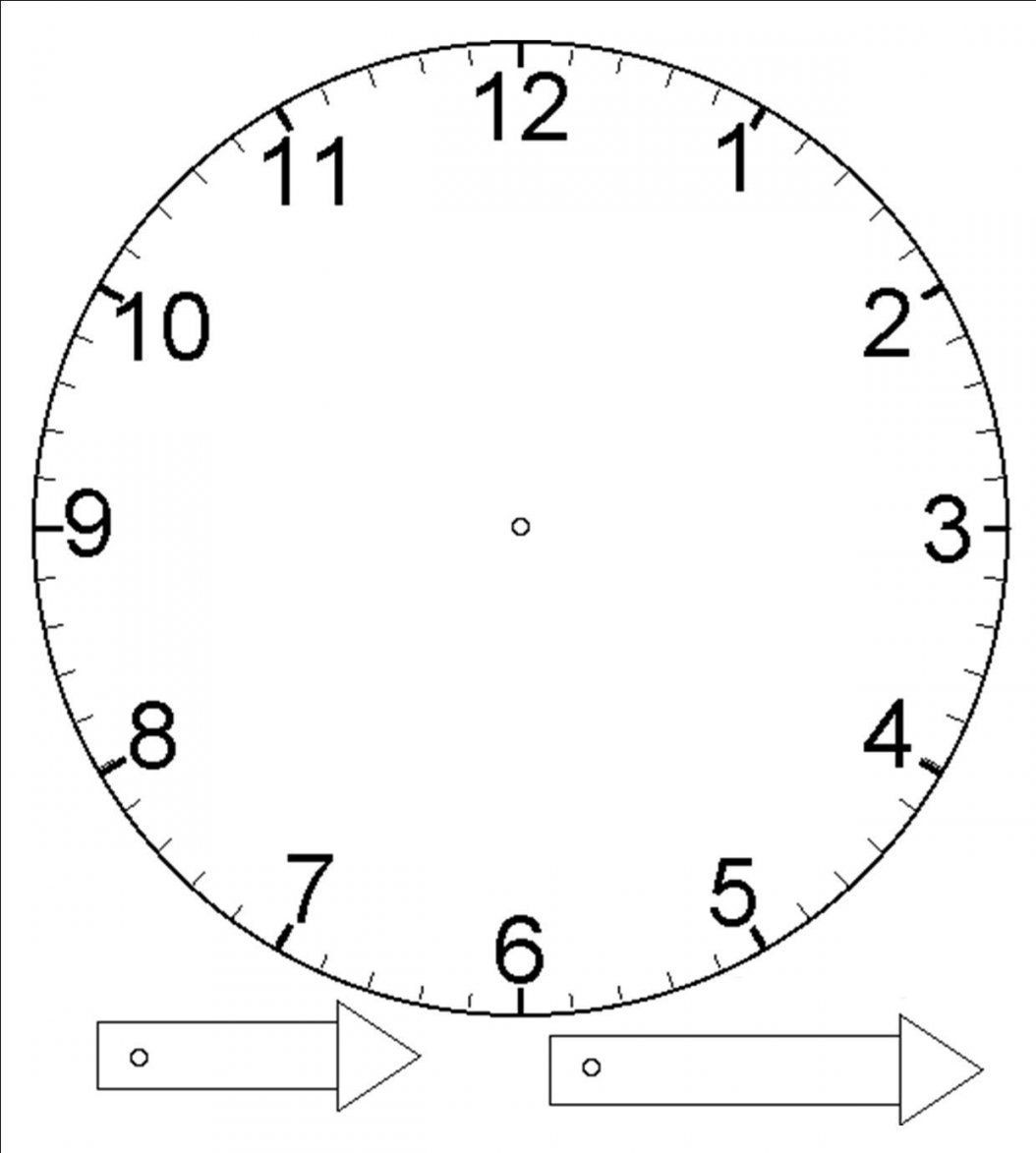 Teaching Time  Excuse Me Mrs C von Make Your Own Clock Photo
