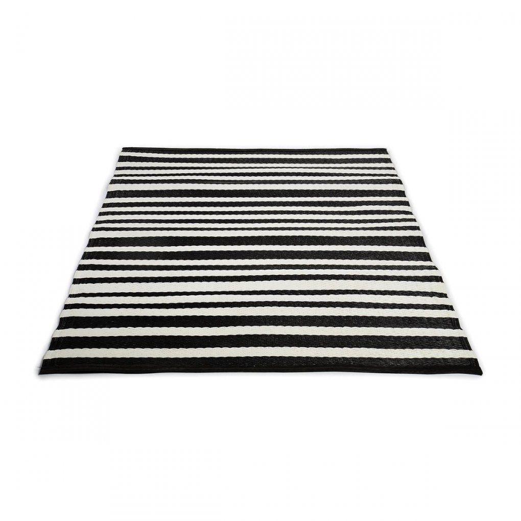 Teppich Streifen Schwarz Weiß Einfach Pappelina Teppich Teppich von Teppich Gestreift Schwarz Weiß Bild