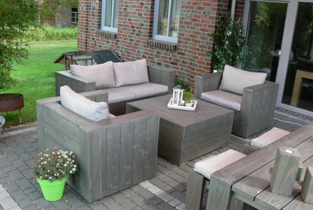Terrassenmöbel Holz Selber Bauen  Ambiznes von Bauholz Gartenmöbel Selber Bauen Bild