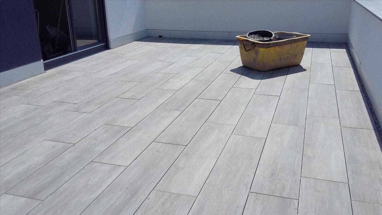 Terrassenplatten In Beton Legen Wb68 – Hitoiro von Betonplatten Auf Beton Kleben Bild