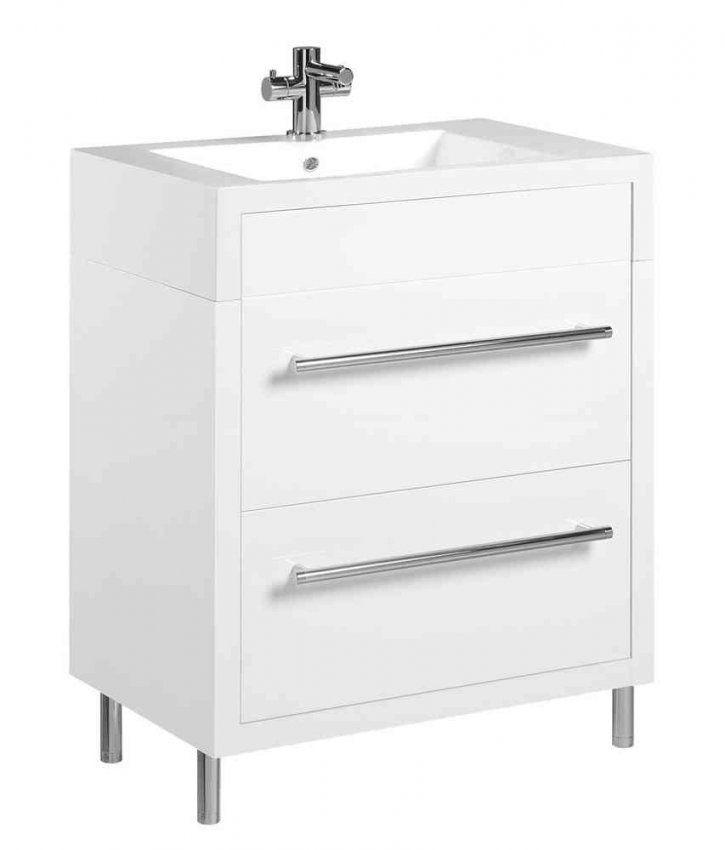 Tiger Serie Boston Waschtischunterschrank Weiß Mit Schubladen Br von Waschtisch Mit Unterschrank 70 Cm Breit Photo
