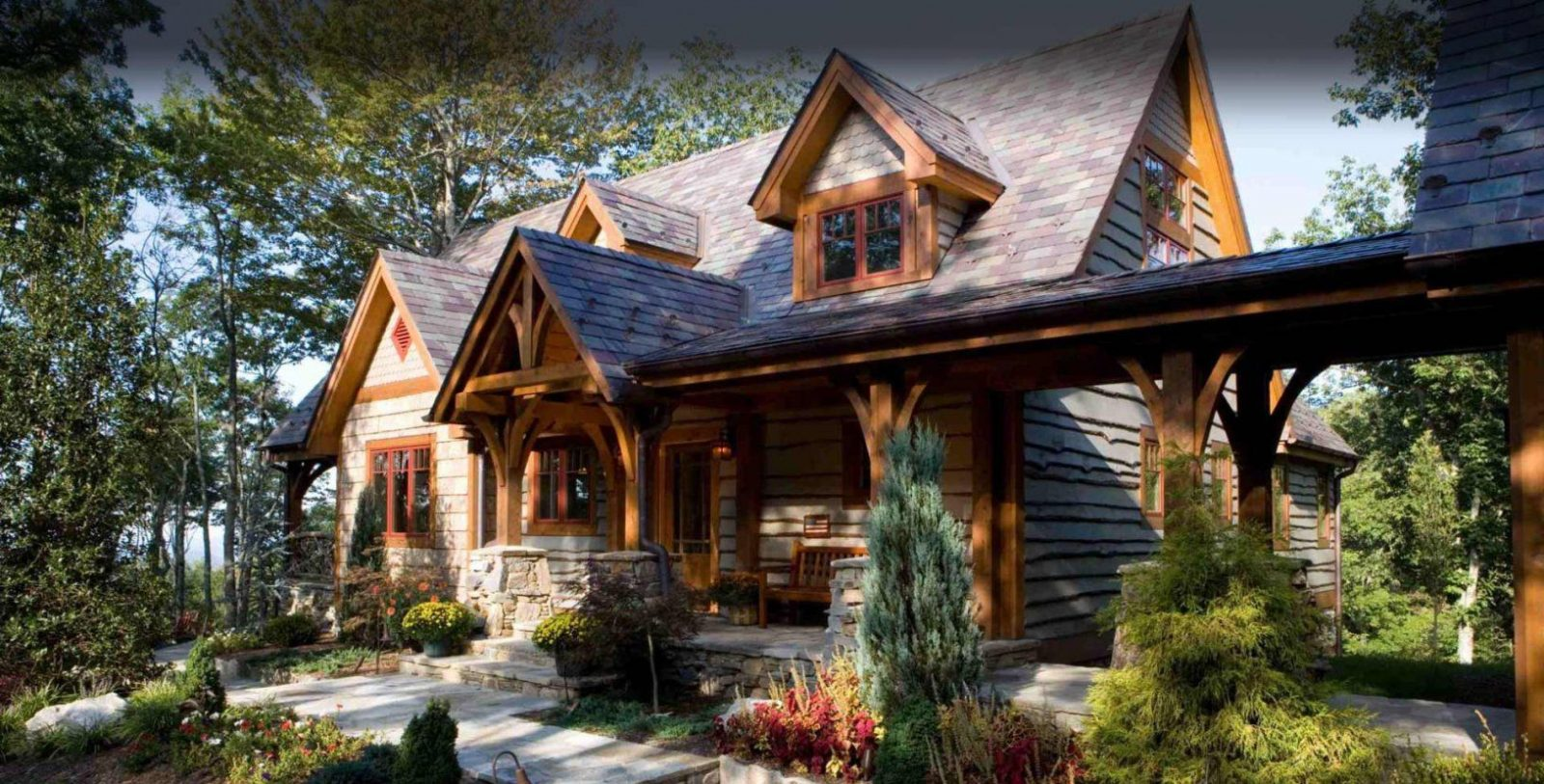 Timber Frame Homesmill Creek Post & Beam Company von Mill Creek Post And Beam Photo
