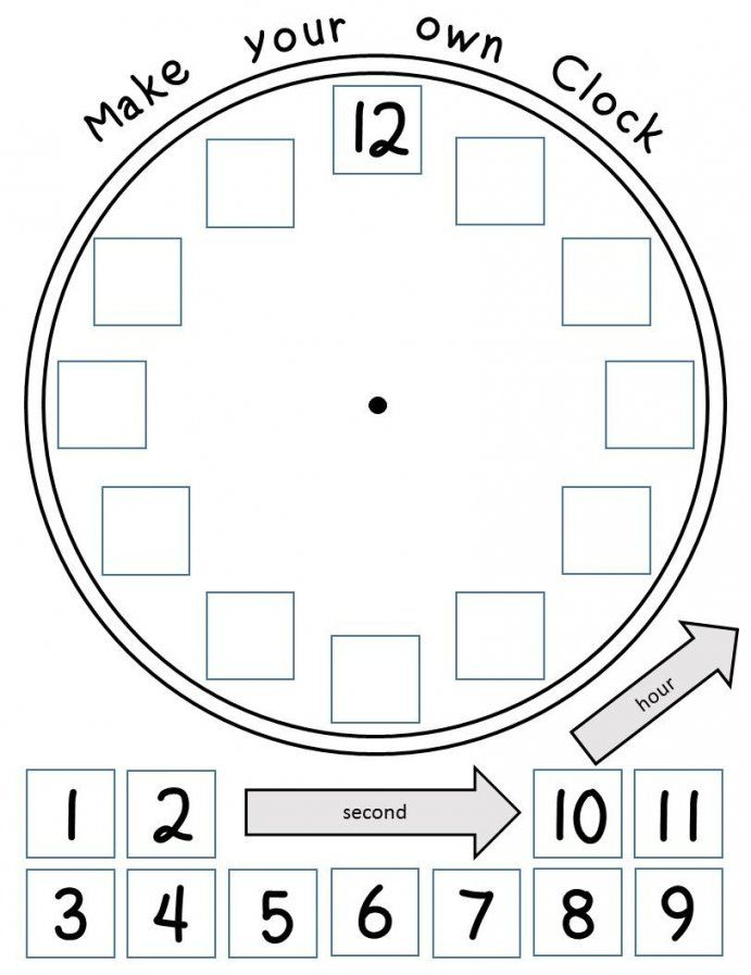 Time Worksheets Hour Half Hour And Quarter Hour  Worksheets von Make Your Own Clock Photo