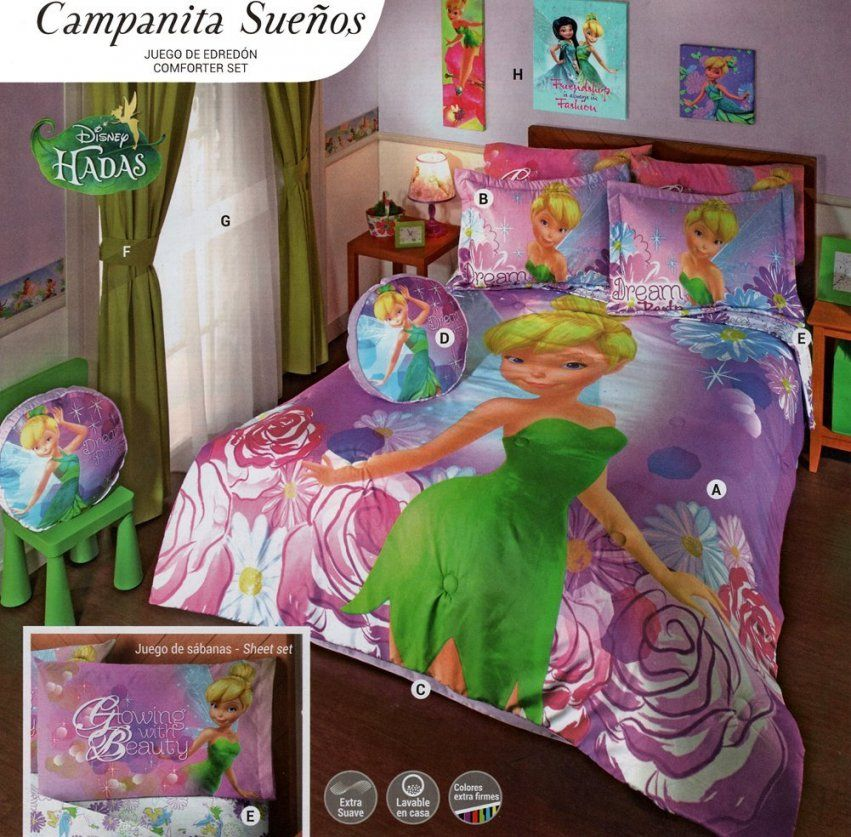 Tinkerbell Bedding Sets Twin  Bedding Designs von Tinker Bell Bed Sets Bild