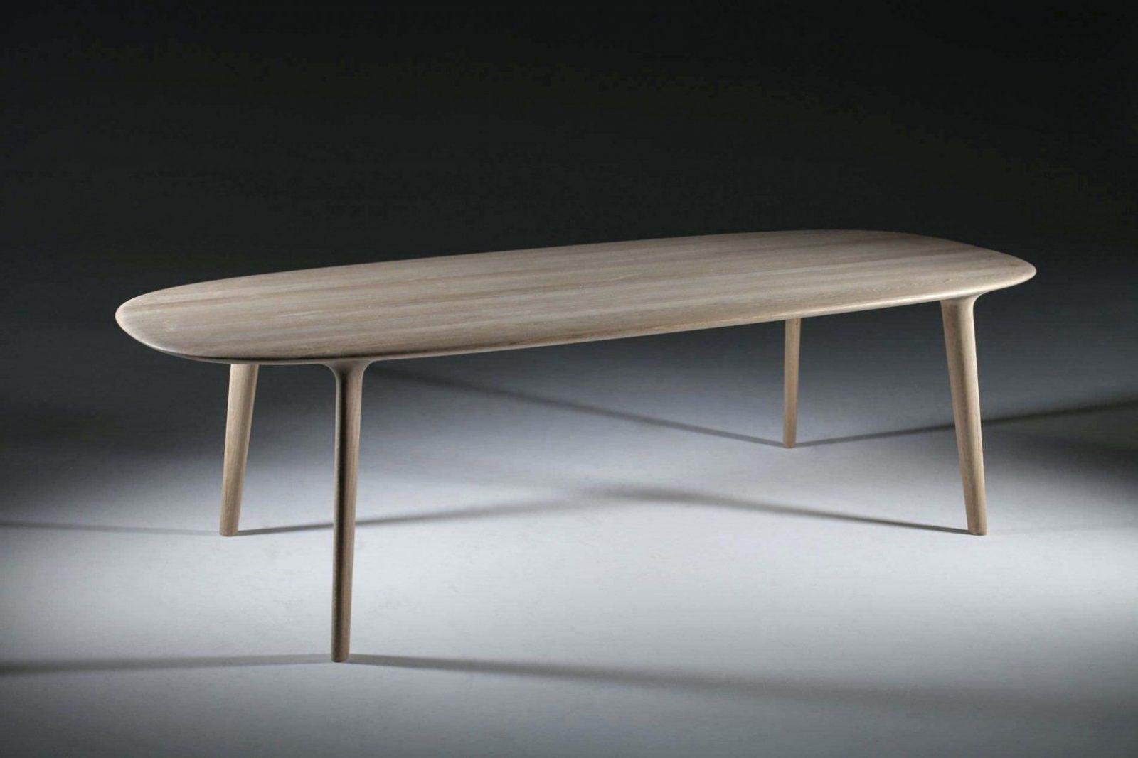Tisch Oval Ausziehbar  Herrlich Esstisch Modern Best von Esstisch Oval Holz Ausziehbar Bild