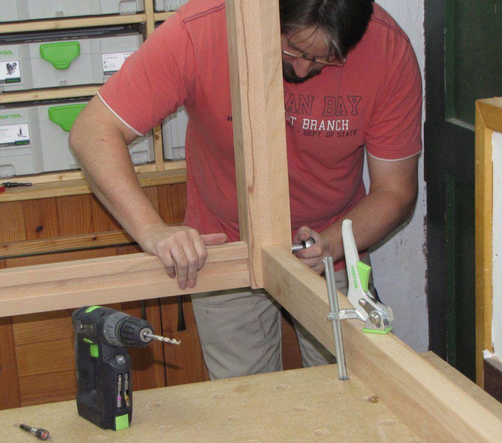 Tischbau In Zwei Tagen  Holzwerkerblog Von Heiko Rech von Untergestell Tisch Selber Bauen Photo