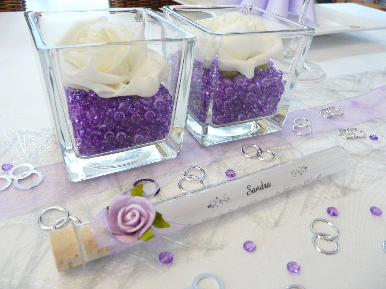 Tischdeko Lila Silber Bildergalerie Ideen von Tischdeko Hochzeit Flieder Weiß Bild