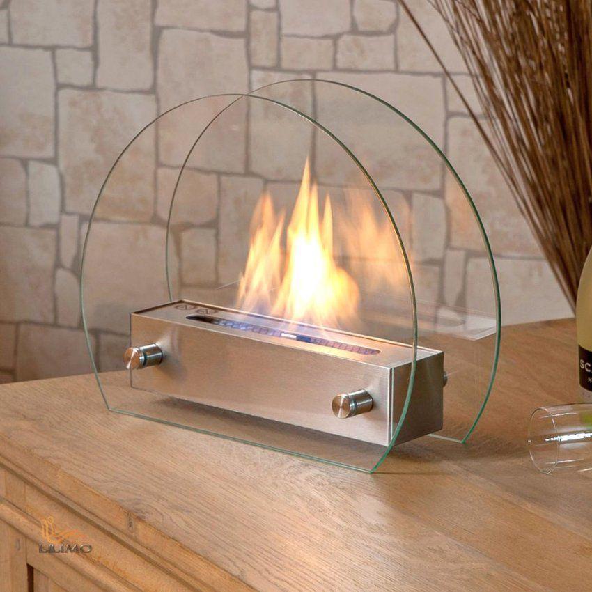 Tischkamin Rimini Halbrund Bio Ethanol Kamin Ofen Tischfeuer Avec von Ethanol Tischkamin Selber Bauen Bild