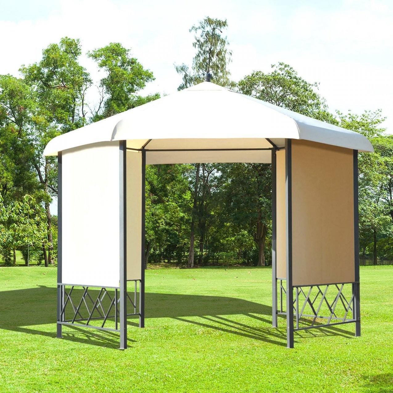 Tolle 40 Holz Pavillon 3X3 Ideen  Einzigartiger Garten von Pavillon 6 Eckig Holz Bild
