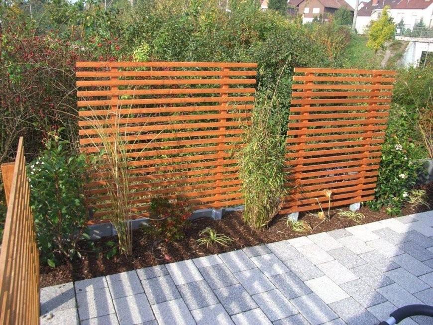 Tolle 40 Sichtschutz Selber Bauen Designideen  Einzigartiger Garten von Garten Sichtschutz Selber Bauen Photo