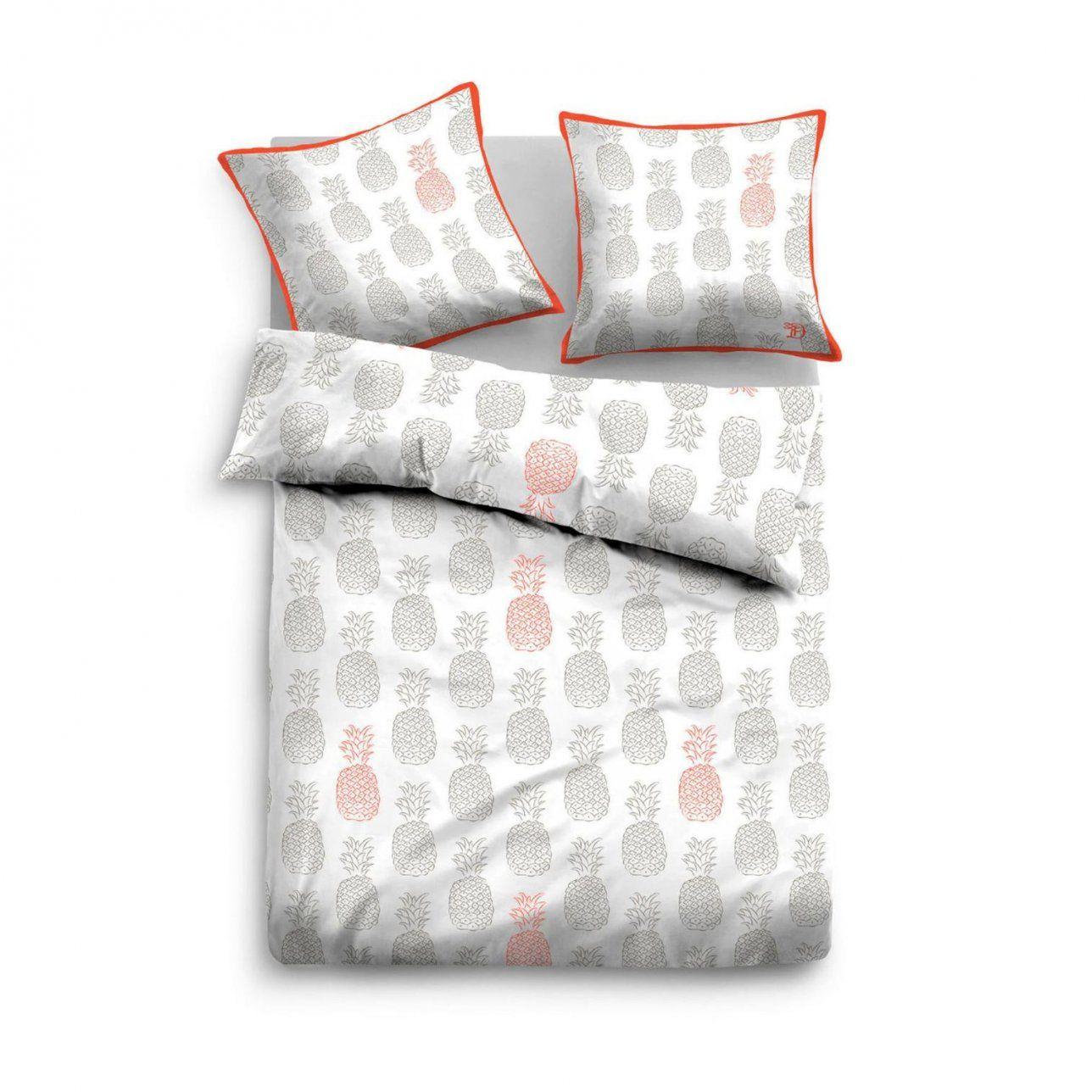 Tom Tailor Denim Linon Bettwäscheset In Farbe Grauorange Um 50 von Bettwäsche Tom Tailor Reduziert Bild