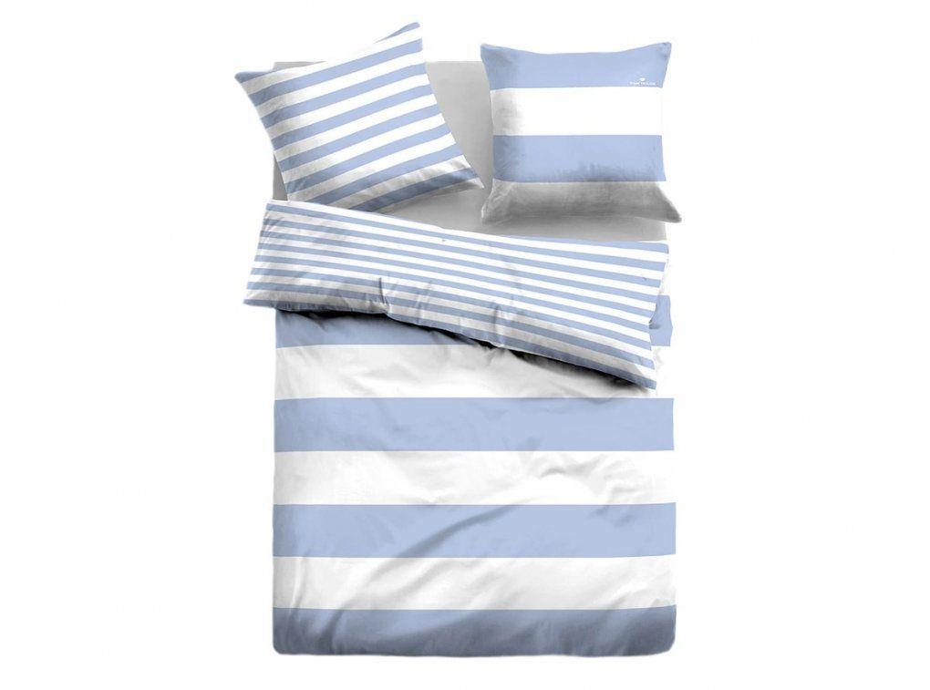 Tom Tailor Linonbettwäsche Casual Stripe Kaufen  Bettenriese von Tom Tailor Bettwäsche Günstig Bild
