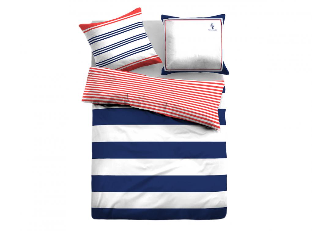Tom Tailor Makosatinbettwäsche Block Stripes Kaufen  Bettenriese von Tom Tailor Bettwäsche Günstig Photo