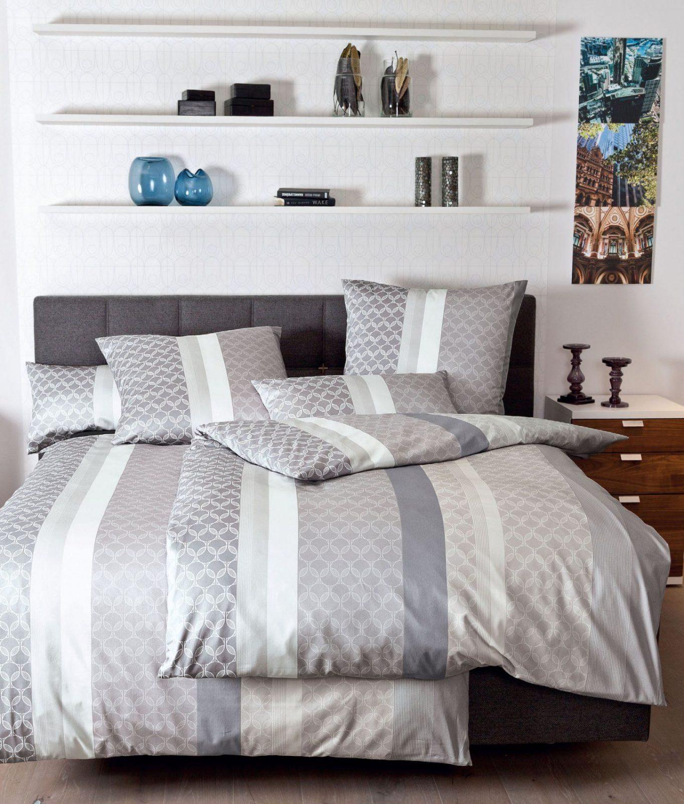 Traumhafte Makosatin Bettwäsche Messina 43025 Günstig Bestellen von Bettwäsche 155X220 Mako Satin Reduziert Bild
