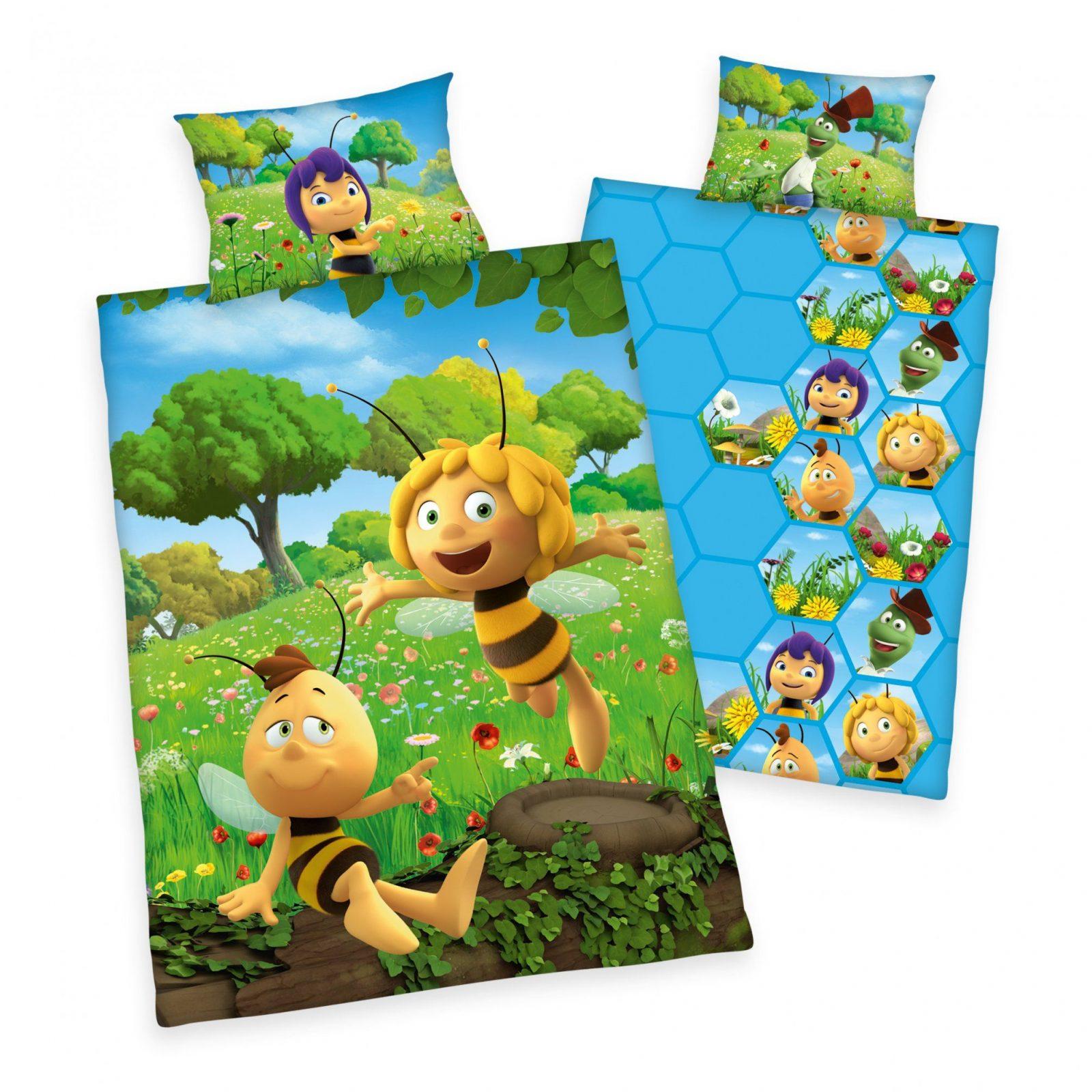 Trend Textilien Zum Kuscheln Und Träumen  Biene Maja Wende Bettwäsche von Biene Maja Bettwäsche 100X135 Photo