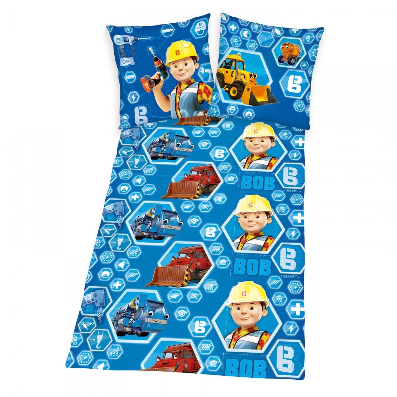 Trend Textilien Zum Kuscheln Und Träumen  Bob Der Baumeister Bettwäsche von Bob Der Baumeister Bettwäsche Photo
